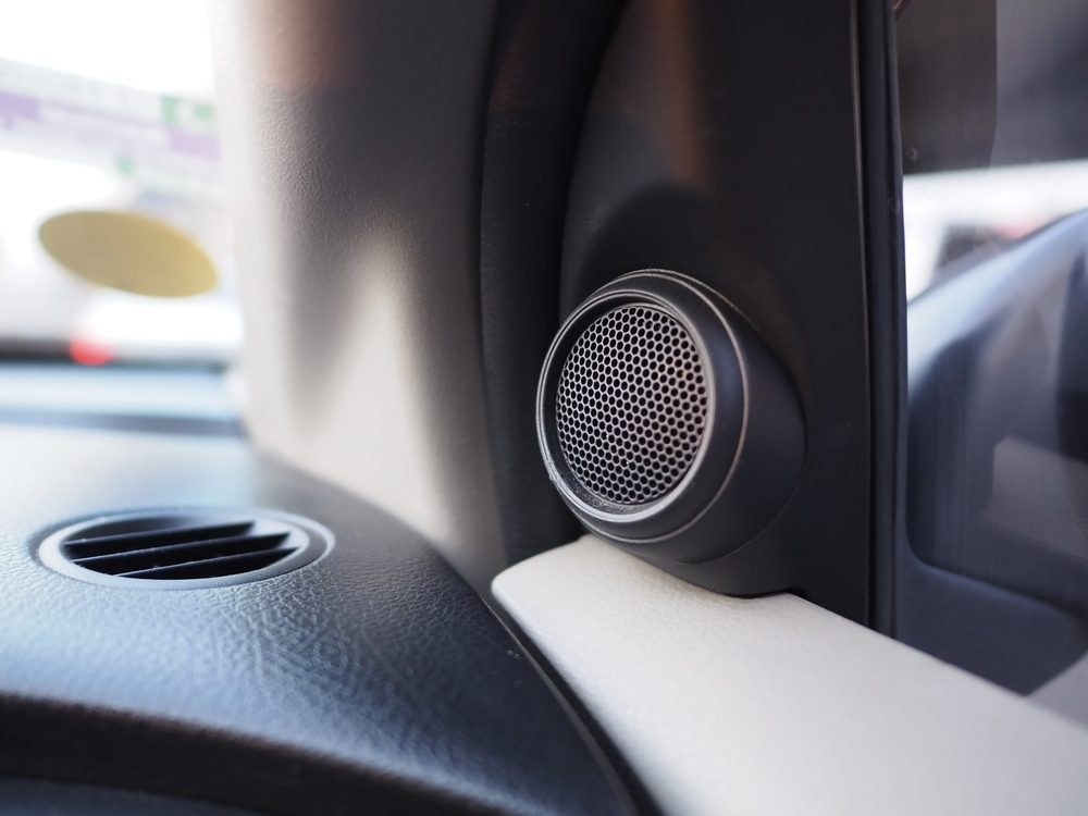 What's the best method to set up the car speakers