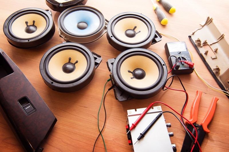 types of car speaker systems