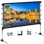 Best Projector Screen with Stand